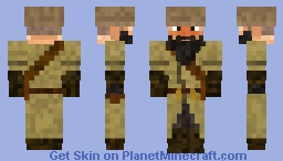 Imperial Russian Soldier Minecraft Skin