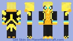 Team Instinct Zapdos Minecraft Skin