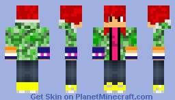 IRL Sneaky Minecraft Skin