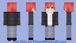 karma akabane Minecraft Skin