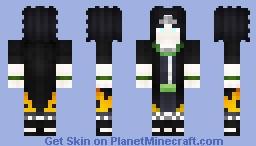 Kazejin Otsutsuki *Naruto Oc* Minecraft Skin