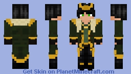 First Skin - Loki Agent Of Asgard - Loki Minecraft Skin