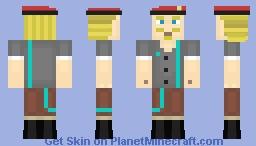 Minecraft Story Mode Milo Minecraft Skin