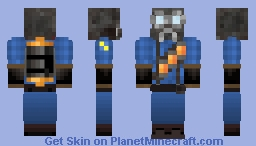 Inieloo | Blue Pyro ~requested~ Minecraft Skin