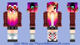 rndnlmtbg | Random Girl Minecraft Skin