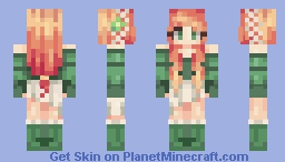 Red Clover Minecraft Skin
