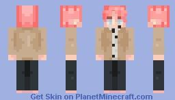 V - BTS Minecraft Skin
