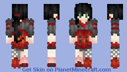 "🎶ℒε!𝓪🎶 ~ ""At least we are together"" ~ Fanskin Minecraft Skin"