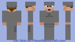 medieval soldier Minecraft Skin