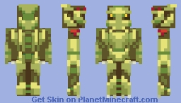 The Witch Doctor Minecraft Skin