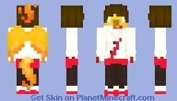 Team Valor Moltres Minecraft Skin