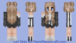 ☁︎F҉𝔀𝓞ⓞ 𝒻♡ ~ Adidas Girl ☾ Minecraft Skin