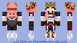 Mei Hatsume (My Hero Academia) Minecraft Skin