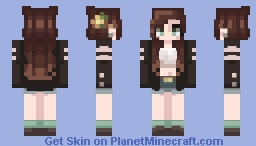 Crop top and socks Minecraft Skin