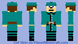 French Infantry (the Great War, 1917) Minecraft