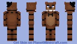 Freddy Fazbear - FNaF 1 Minecraft Skin