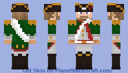 Hessian Soldier (Age of Empires III) Minecraft Skin