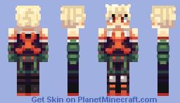 Katsuki Bakugo [Hero Academia] Minecraft Skin