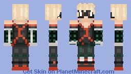 Katsuki Bakugo: My Hero Academia Minecraft Skin