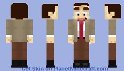 rndnlmtbg | Mr. Bean Minecraft Skin