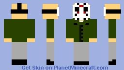 Jason Voorhees (Friday the 13th Part III) Minecraft Skin