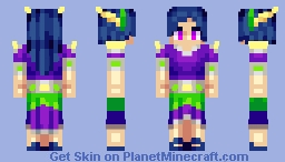Neon Night Minecraft Skin
