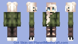 and she's still not back! Minecraft Skin