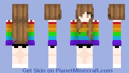 Love is Love Minecraft Skin