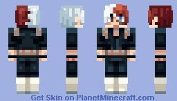 Shoto Todoroki [Hero Academia] Minecraft Skin