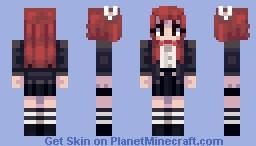 Tsuki [Drawkill] Minecraft Skin
