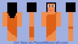 cave girl Minecraft Skin