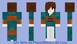The Elder Scrolls: Skyrim Ysolda Minecraft Skin