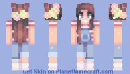 Cute n Simple - For my sister Minecraft Skin