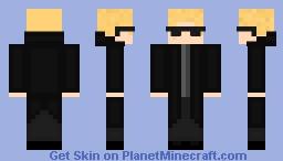 Albert Wesker (Resident Evil 4) Minecraft Skin
