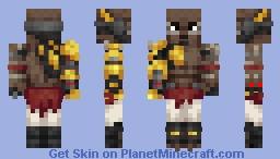 Doomfist Minecraft Skin