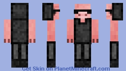 pig gang member requested by BaconxSlayar20081337MCYT Minecraft Skin
