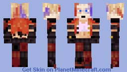 (Better In Preview!) Harleen Frances Quinzel (aka... Harley Quin!) Minecraft Skin