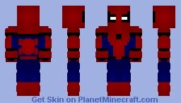 Spider-Man: Homecoming Minecraft Skin