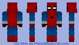 Spider-Man: Homecoming - Homemade Suit Minecraft Skin