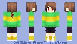 Chara - [Undertale Character] ~ PBP Minecraft Skin