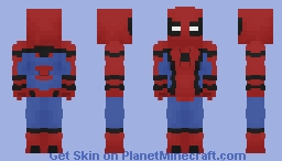 Spider-Man(MCU) Minecraft Skin