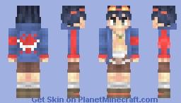 Simon - Gurren Lagann Minecraft Skin