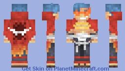 Kamina - Gurren Lagann Minecraft Skin