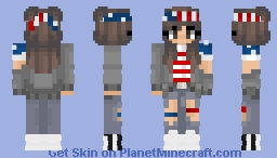 Happy~4th-Of•July~ Minecraft Skin