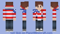 Late July 4th Special Minecraft Skin