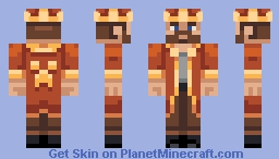 Just a King Minecraft Skin