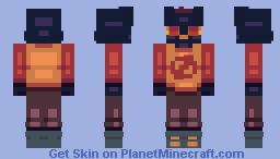 Mae --  ヅ  Night in the Woods  ヅ Minecraft Skin