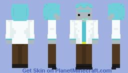 Rick Sanchez - Rick and Morty Minecraft Skin