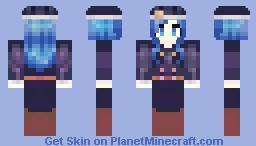 Juvia - Fairy Tail Minecraft Skin