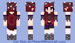 Magic User ~ Fwendo Requst :3 Minecraft Skin